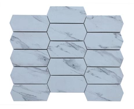 3d glass mosaic tiles